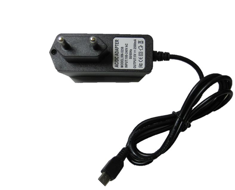 5V power supply 2.5A micro USB