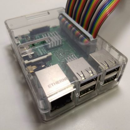 Transparant RPI3 case