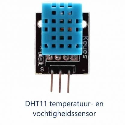 temperatuur en vochtigheidssensor