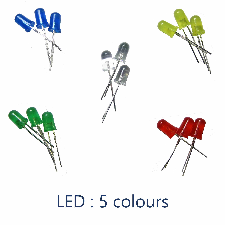 colour LED 5mm