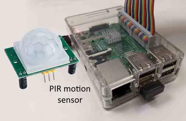 HC-SR501 PIR motion sensor on Raspberry Pi