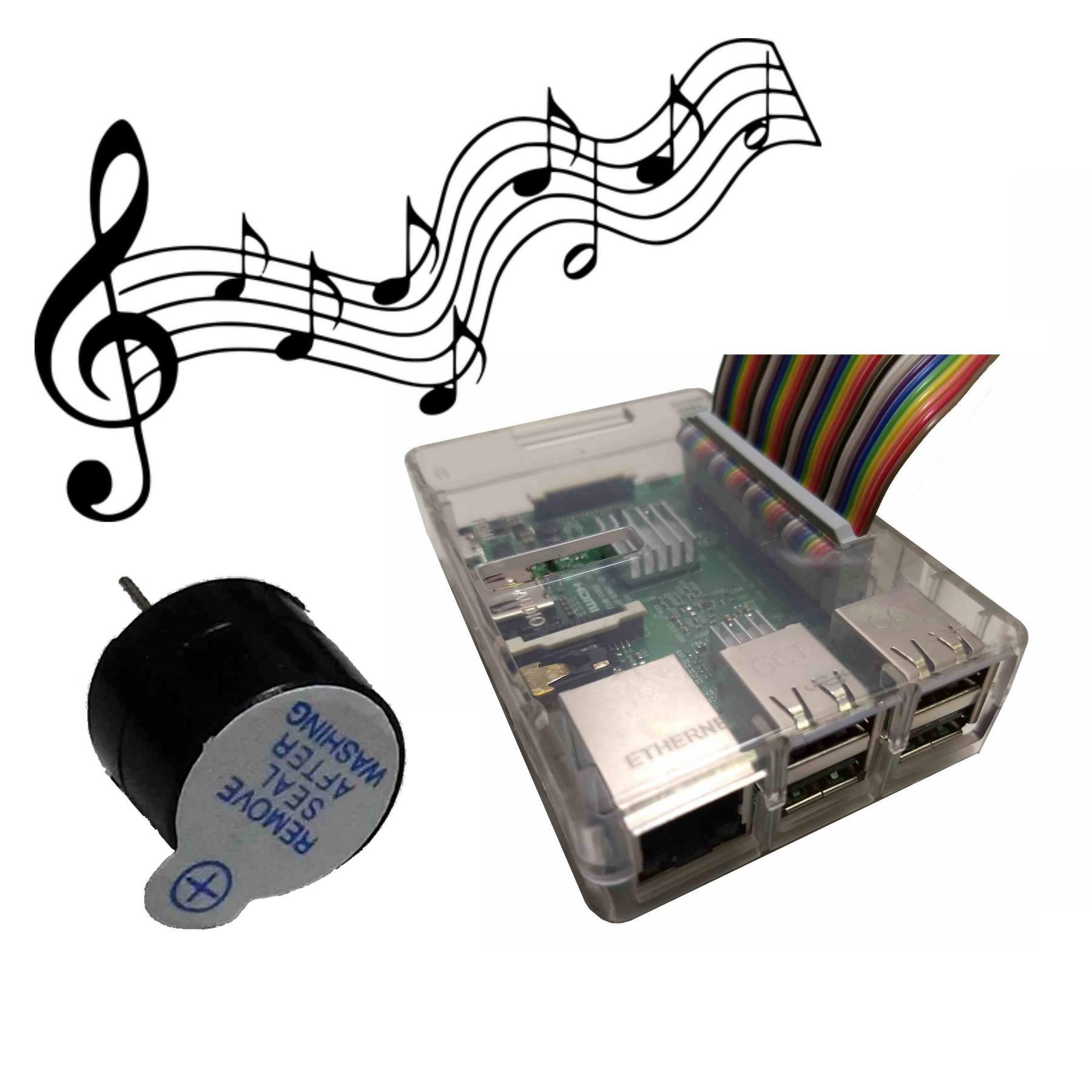 Raspberry Pi buzzer melody