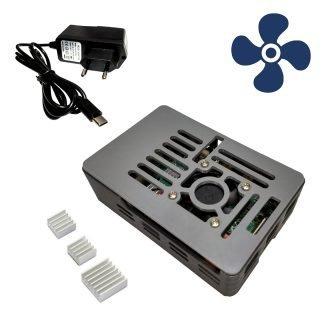 Raspberry PI 4B case power supply fan