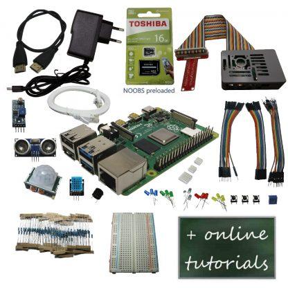Raspberry Pi 4B ultimate starter kit
