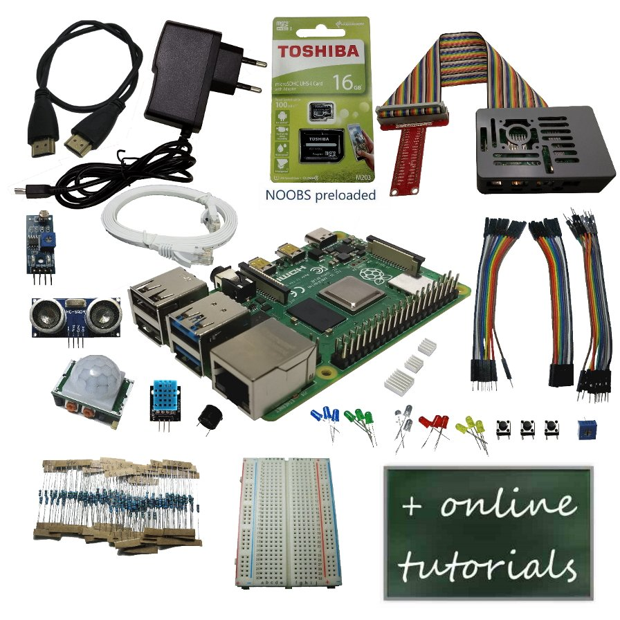 Raspberry Pi 4B ultimate starter kit