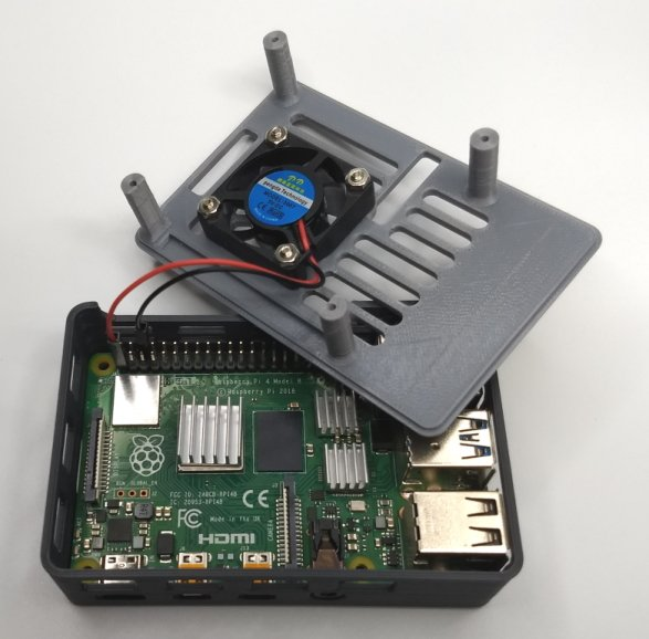 fan Raspberry Pi connection