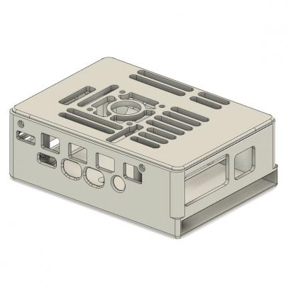 Raspberry Pi case SSD